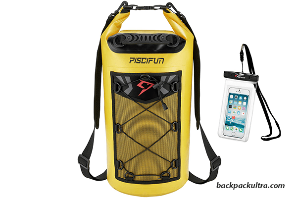 Piscifun Waterproof Dry Bag Backpack