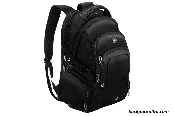 Suissewin big business travel backpack, best backpacks