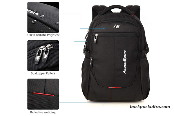ASPENSPORT Laptop Backpack