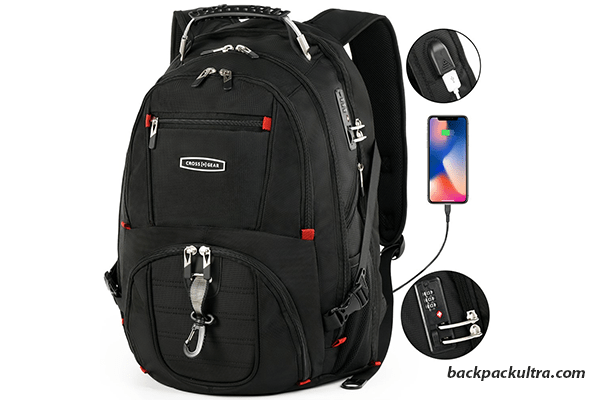 CrossGear TSA Laptop Backpack tsa approved backpacks