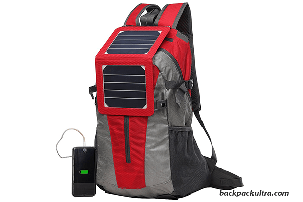 ECEEN Powered Backpack with Solar Charger