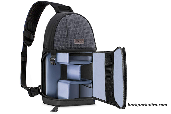 MOSISO Shockproof Sling Backpack