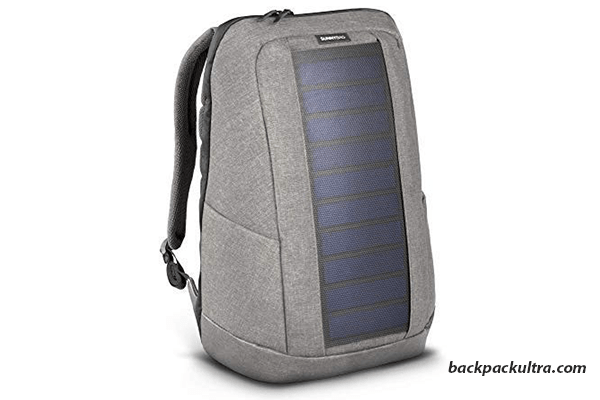 simple solar backpack
