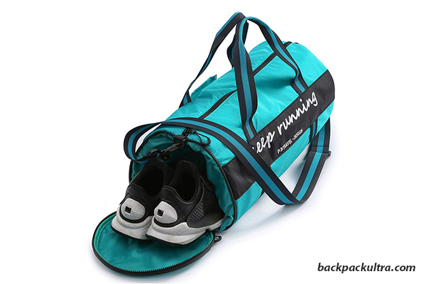 Henzin Gym Bag with Shoes Compartment