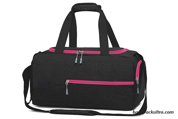 MarsBro Gym Duffel Bag with Shoe Compartment