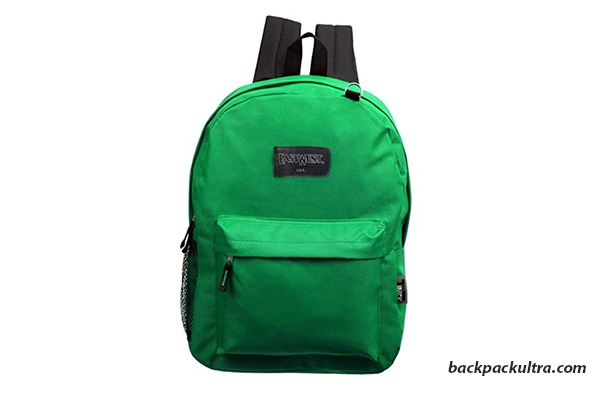 17 Inch Basic Bulk Backpacks