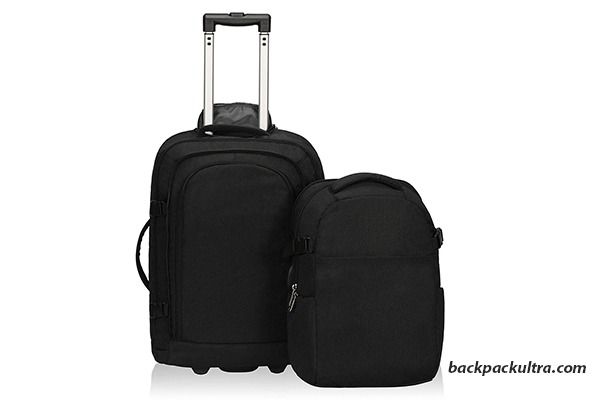 Travel Max Carry On Luggage 22x14x9