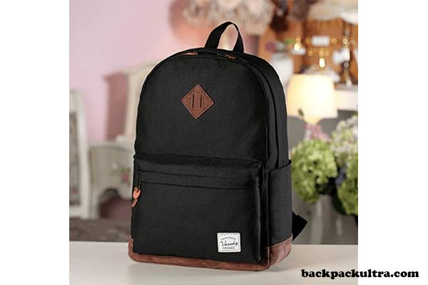 Vaschy Unisex Classic Water-resistant Backpack