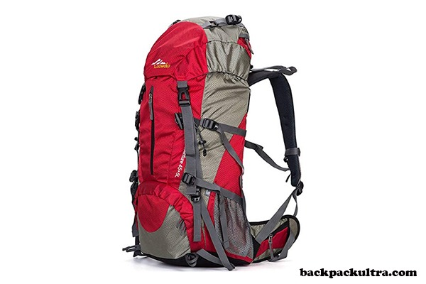 Hiking 50L Travel Camping Backpack with Rain Cover