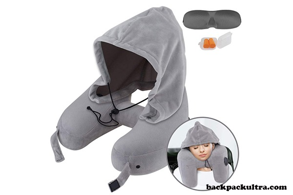 Sunany Inflatable Travel Neck Pillow