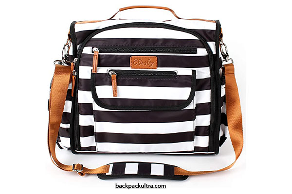 Blissly Convertible Baby Diaper Bag