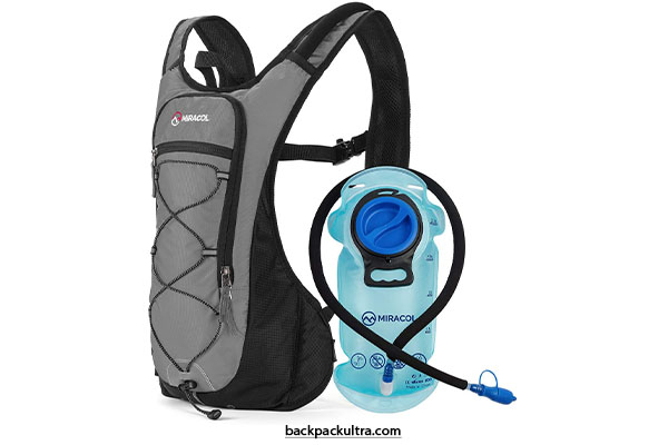 MIRACOL best Running Backpack for commuting
